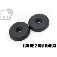 Dischi RFID 32mm adesivi ICODE 2 ISO 15693