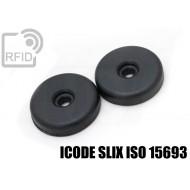 Dischi RFID 32mm adesivi ICODE SLIX ISO 15693