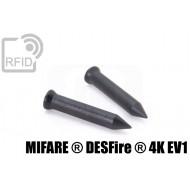 Chiodi tag RFID 36mm NFC MIFARE ® DESFire ® 4K EV1