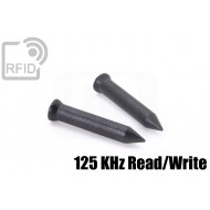 Chiodi tag RFID 36mm Read/Write 125 Khz