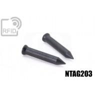 Chiodi tag RFID 36mm NFC NTAG203