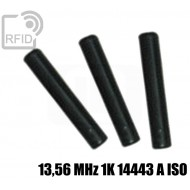 Tubetti tag RFID 13,56 MHz 1K 14443 A ISO