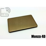 Tessera rigida RFID UHF Monza 4 - 4D