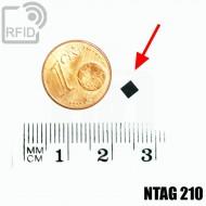 Tag RFID miniaturizzato NFC NTAG210