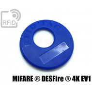 Disco RFID prodotti appesi NFC MIFARE ® DESFire ® 4K EV1