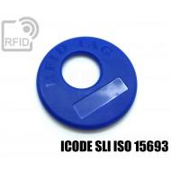 Disco RFID prodotti appesi ICODE SLI ISO 15693