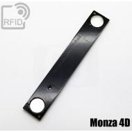 Tag magnetico rigido RFID per metalli Monza 4D