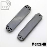 Tag rigido RFID UHF Monza 4D