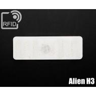 Etichetta RFID lavanderia Alien H3