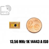 Tag RFID film 8 x 13 mm 13,56 MHz 1K 14443 A ISO